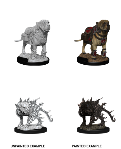 Mastif & Shadow Mastif: D&D Nolzur's Marvelous Unpainted Miniatures
